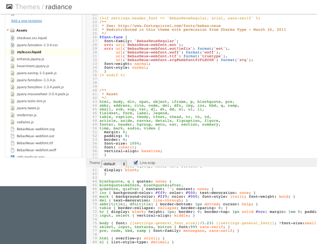 Ecommerce University Template Editor Broken Shopify Shopify - Shopify template editor
