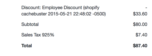 Ecommerce University | Issue with Discount codes on Create Order API
