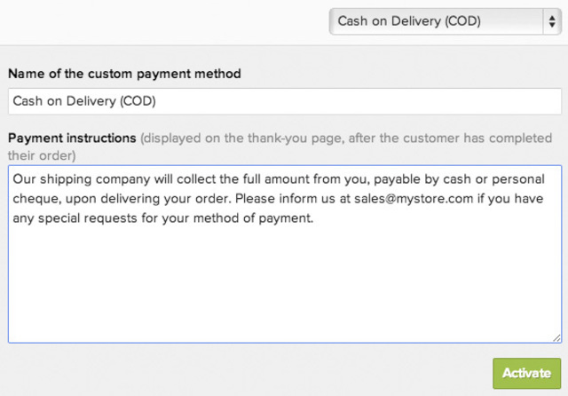 Custom Payment 3 Thumb  Payment Advice Slip