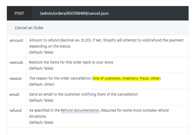 how to find reason amazon order cancelled