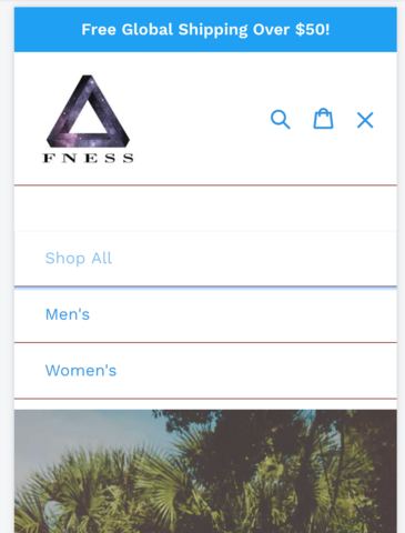 Ecommerce University | Mobile Sidebar Drop-Down Menu Missing Buttons