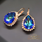 Swarovski earrings bermuda blue 3 thumb