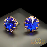 Swarovski earrings majestic blue 2 thumb