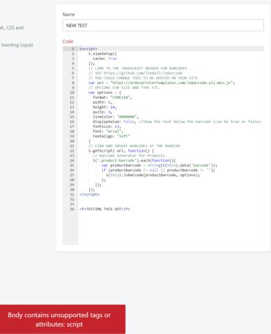 Ecommerce University   Adding a Barcode to Order Printer via